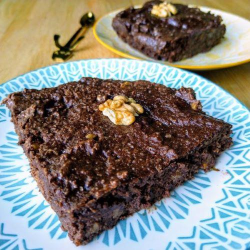 brownie choco sans gluten