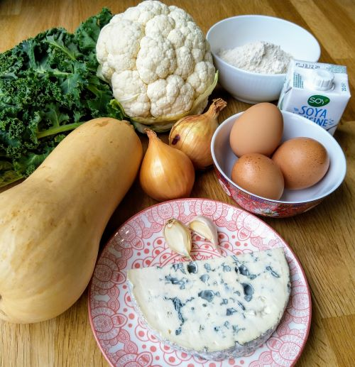 recette crumble butternut bio